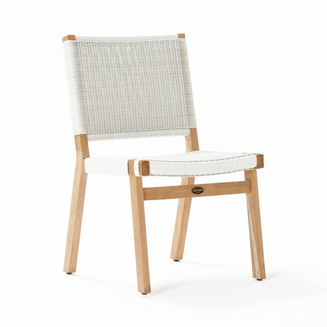 Devon Jackson Outdoor Dining Chair - White Wash