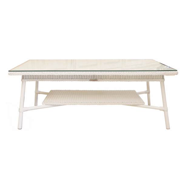 Vincent Sheppard Rectangular Outdoor Coffee Table White