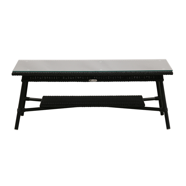 Vincent Sheppard Rectangular Outdoor Coffee Table Black