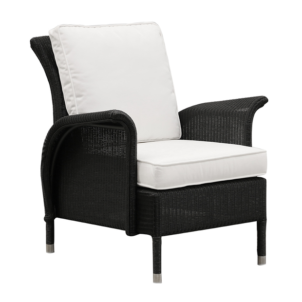 Vincent Sheppard Jackson Outdoor Lounge Chair Black