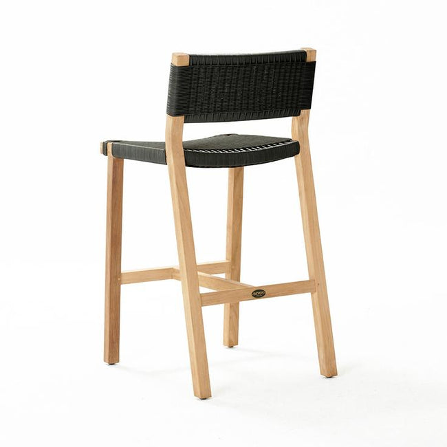 Devon Marsden Outdoor Bar Stool - Shadow Grey