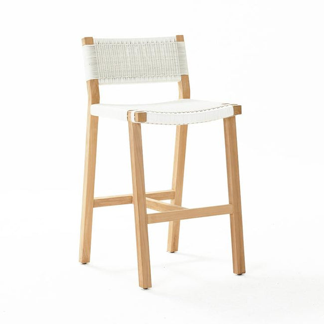 Devon Marsden Outdoor Bar Stool - White Wash