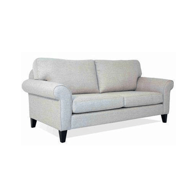 parklane sofa in white fabric made in new zealand