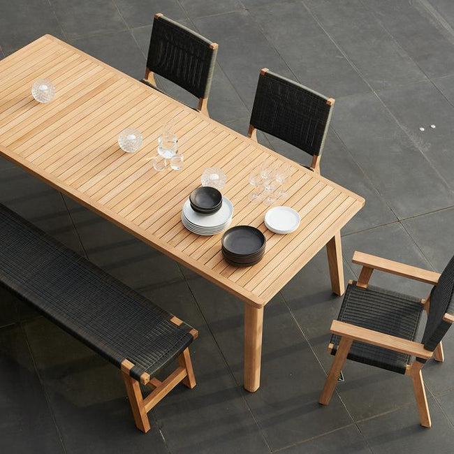 Devon Porter Teak Outdoor Dining Table - 2400