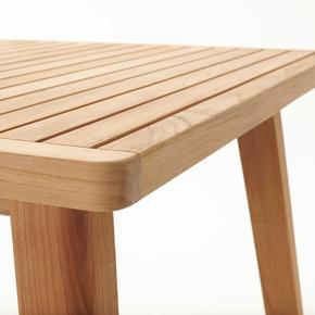 Devon Porter Teak Outdoor Dining Table - 1600