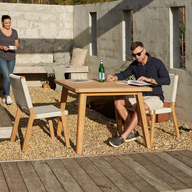 Devon Porter Outdoor Square Dining Table
