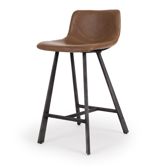 ritz cognac bar stool