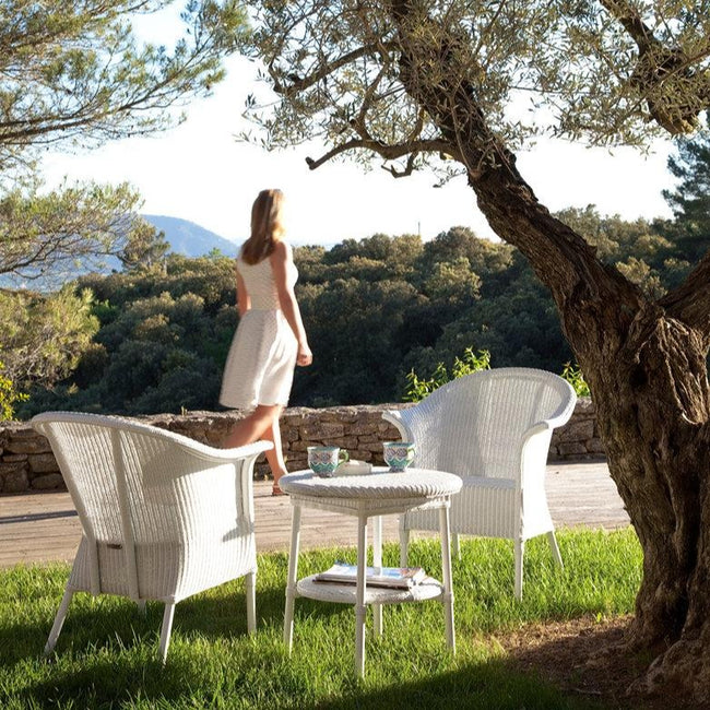 Vincent Sheppard Avignon Outdoor Table White