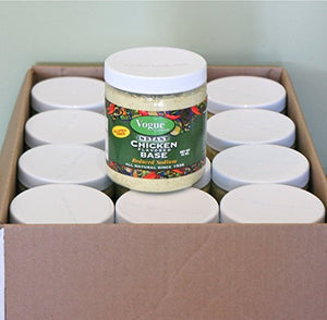 Vogue Cuisine Chicken 12x12oz (Case of 12 @12oz) Soup & Seasoning Base