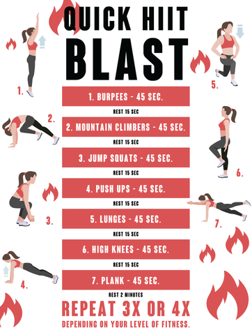 HIIT QUICK WORKOUT