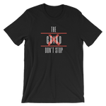 The Grind Don't Stop Tee (Red) - S - Raki Life