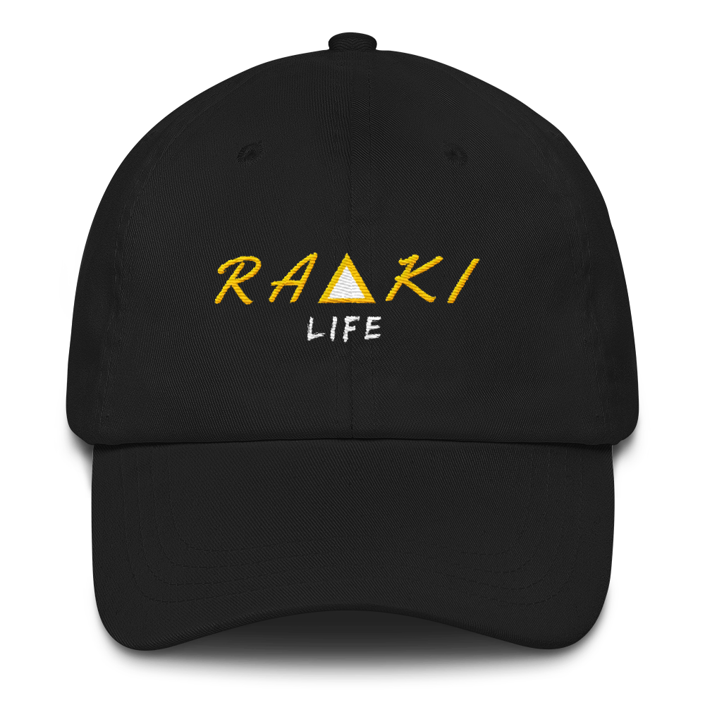 Raki Life Dad Hat - Black - Raki Life
