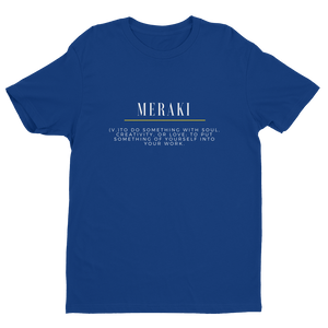 Meraki Original Tee V2 - Royal Blue - Raki Life