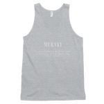 Meraki Original Tanktop Black - Heather Grey - Raki Life