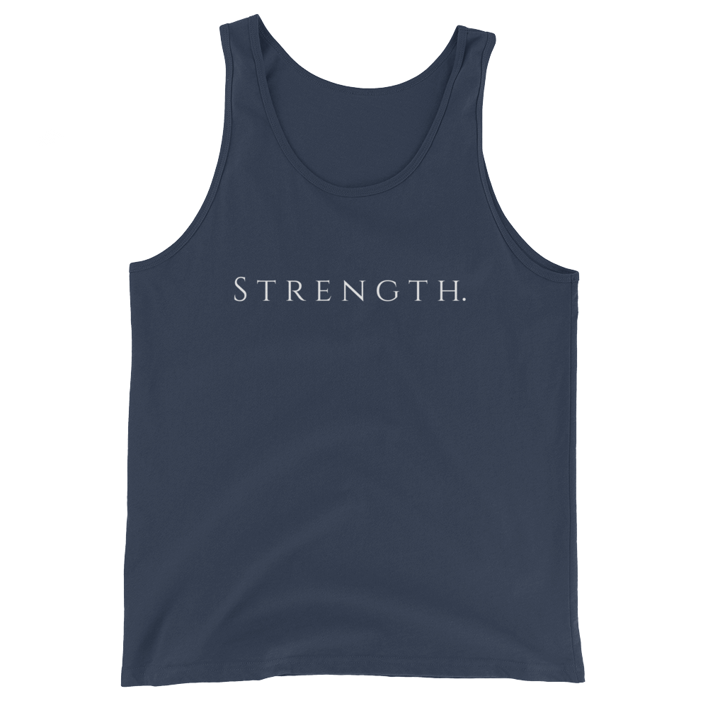 Only Strength Tanktop - Navy - Raki Life