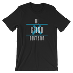 The Grind Don't Stop Tee (Blue) - Black - Raki Life