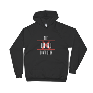 The Grind Don't Stop Hoodie (RED) - S - Raki Life