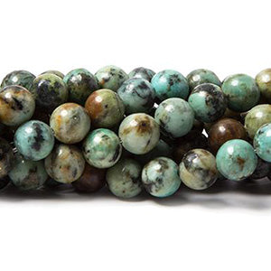African Turquoise Jasper Beads