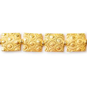 22kt Gold Plated Copper Beads