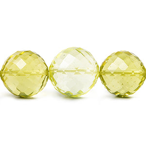 Lemon Quartz Beads
