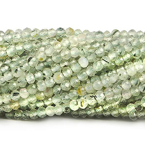 Micro Faceted Gemstone Beads