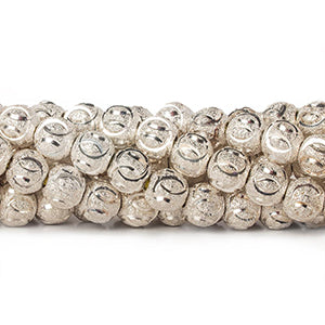 Sterling Silver Plated Brass Beads