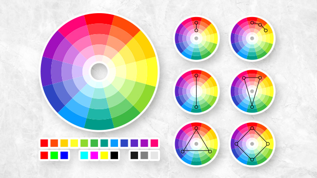 color theory diagrams