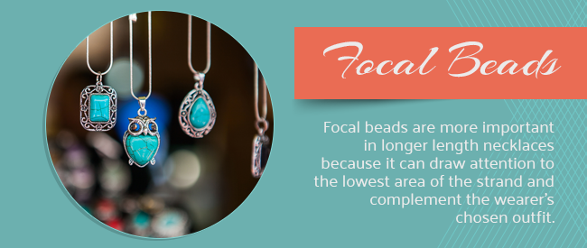 necklace focal beads quote