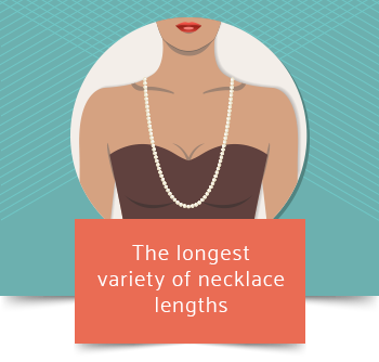 lariat necklace length graphic