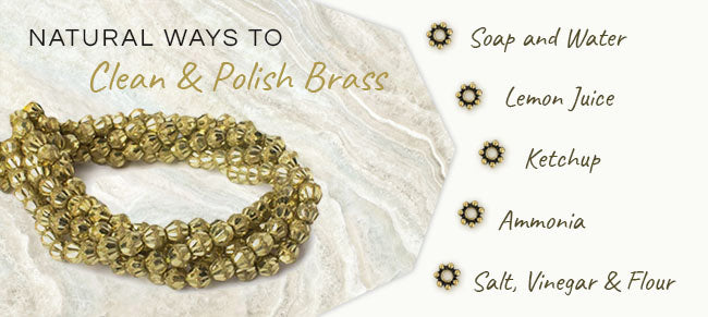 natural ways clean brass beads