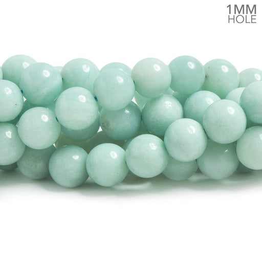 8mm Amazonite plain round beads 15 inches 50 pieces