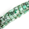 Brazilian Emerald Faceted Nuggets - Lot of 4