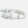 Off White Ultra Baroque Freshwater Pearls 16 inch 19 pieces
