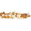 7x6mm-9x7mm Citrine Plain Pear Beads 8 inch 60 pieces