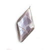 45x24mm Black Gold .925 Bezel Chocolate Moonstone faceted Kite Pendant 1 piece