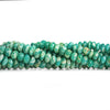 Russian Amazonite Faceted Rondelle Beads 6 inch 40 pieces