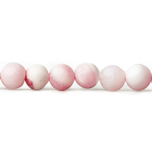 5.5mm Pink Opal plain round beads 13 inch 64 pieces