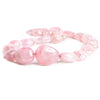 23mm Morganite Plain Nugget Beads 18 inch 23 pieces