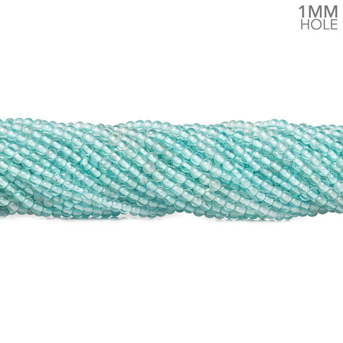 Beautiful range of 2.5mm Apatite plain round beads 16 inch 185 pieces - Buy From The Bead Traders Online Store.