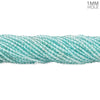 2.5mm Apatite plain round beads 16 inch 185 pieces