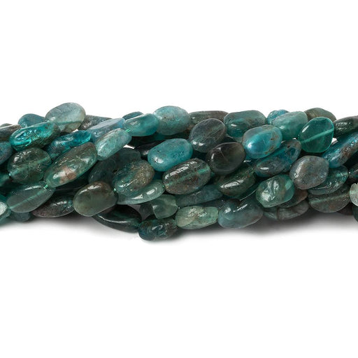 Frosted Multi Tonal Apatite plain nugget beads 13 inch 46 pieces