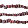4x6-7x8mm Ruby Natural Tumbled Nuggets 7.75 inches, 46 Beads