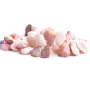 Pink Peruvian Opal Plain Pear Beads 9 inch 45 pieces