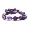 Best buying Amethyst plain nugget beads 12 inch 23 beads 10x8x5-13x106mm - Buy From The Bead Traders Online Store.