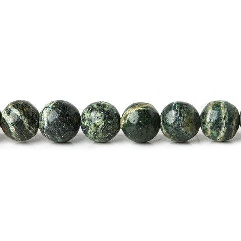 Premium quality 6mm Green Zebra Jasper plain rounds Large 1mm Hole 15 inch 63 beads - Buy From The Bead Traders Online Store.