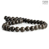 10mm Coffee Wood Jasper Plain Round Beads 15.5 inch 38 pieces