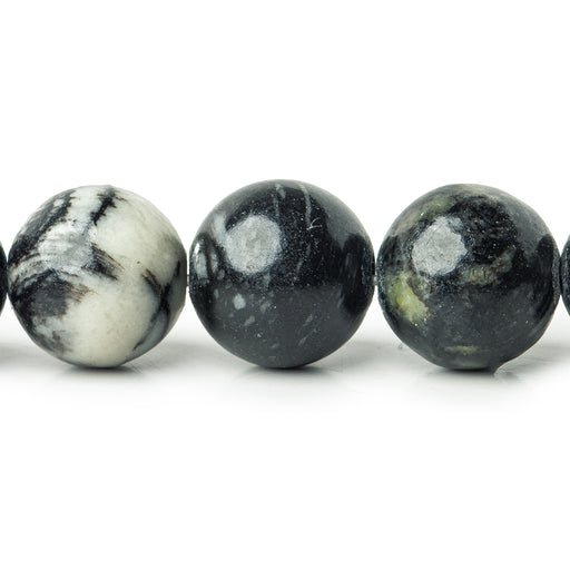 8mm Picasso Jasper plain rounds Large 1mm Hole 15 inch 46 beads