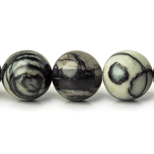 12mm Picasso Jasper plain rounds Large 1mm Hole 15 inch 31 beads