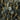 Matte Kyanite plain coin 22kt Gold plated Chain by the foot 8-9.5mm