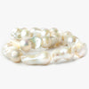 Cream Ultra Baroque Freshwater Pearls 16 inch 13x25-14x33mm 14 pearls